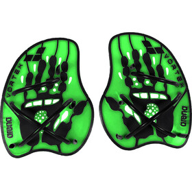 arena Vortex Evolution Hand Paddle acid lime-black